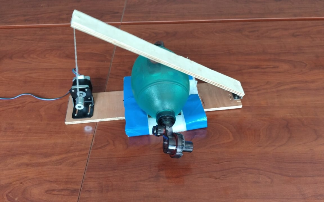 """Wanjiku"" Ventilator Do It Yourself (DIY) Using a Stepper Motor"